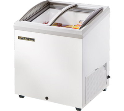 "True TFM-29AL WHT 29.88"" Mobile Ice Cream Freezer, 115v"