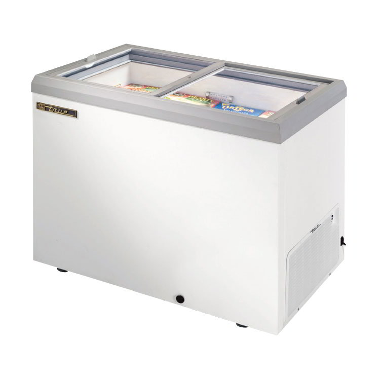 "True TFM-41FL WHT 41.38"" Mobile Ice Cream Freezer, 115v"