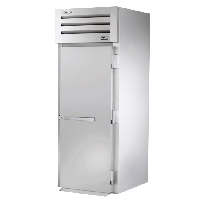 "True STG1HRI-1S 35"" Roll-In Heated Cabinet - 1-Solid Door, Stainless/Aluminum"
