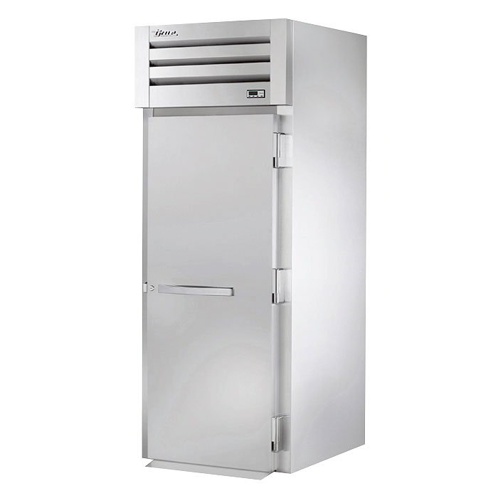 "True STG1HRI89-1S 35"" Roll-In Heated Cabinet - 1-Solid Door, 89""H, Stainless/Aluminum"