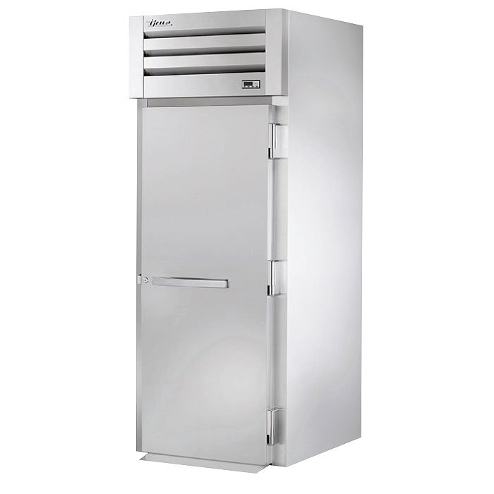 "True STG1RRI89-1S 35"" Single Section Roll-In Refrigerator, (1) Solid Door, 115v"