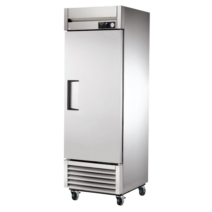 "True TH-23 27"" Heated Cabinet - 1-Solid Door, Stainless/Aluminum"