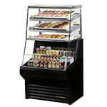 "True THAC-36DG-LD 36"" Horizontal Open Air Dry/Cooler w/ (6) Level, Black, 115v"