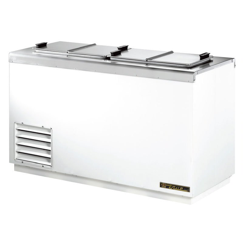 "True THDC-4SF 54.13"" Stand Alone Ice Cream Freezer w/ 6-Tub Capacity & 4-Tub Storage,115v"