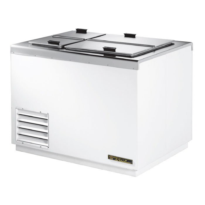 "True THDC-6 43.25"" Stand Alone Ice Cream Freezer w/ 8-Tub Capacity & 5-Tub Storage, 115v"
