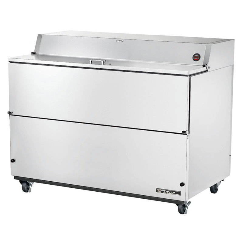 True TMC-58-S-SS Milk Cooler w/ Top & Side Access - (1024) Half Pint Carton Capacity, 115v