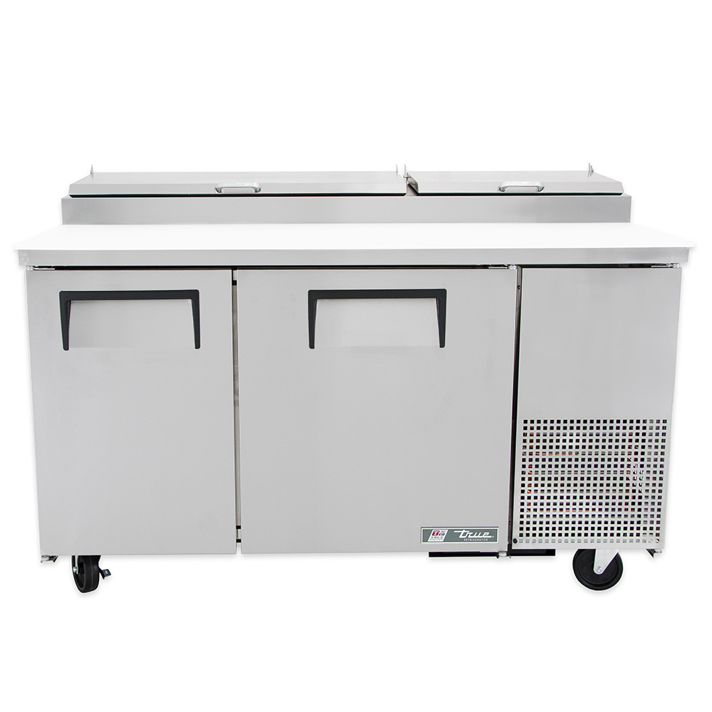 "True TPP-60 60"" Pizza Prep Table w/ Refrigerated Base, 115v"