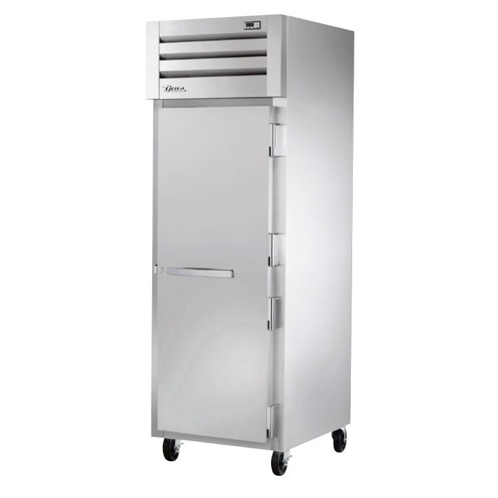 "True STR1H-1S 27-1/2"" Reach-In Heated Cabinet - 1-Section, Solid Full Door, Stainless 208-230v"