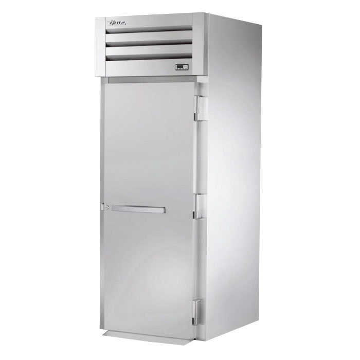 "True STR1HRI-1S 35"" Roll-In Heated Cabinet - 1-Solid Door, All Stainless"