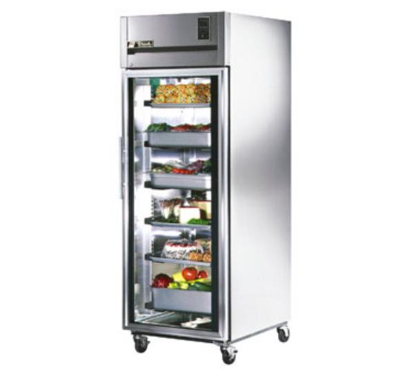 True TR1R-1G Refrigerator, Reach-In, 1 Section/Glass Door, 31 cu ft