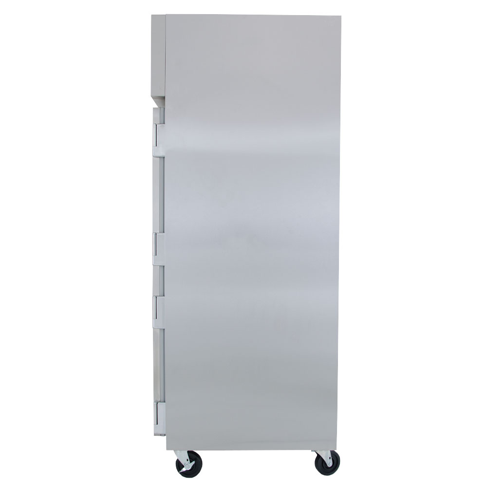 "True STR3R-3S 77.75"" Three Section Reach-In Refrigerator, (3) Solid Door, 115v"