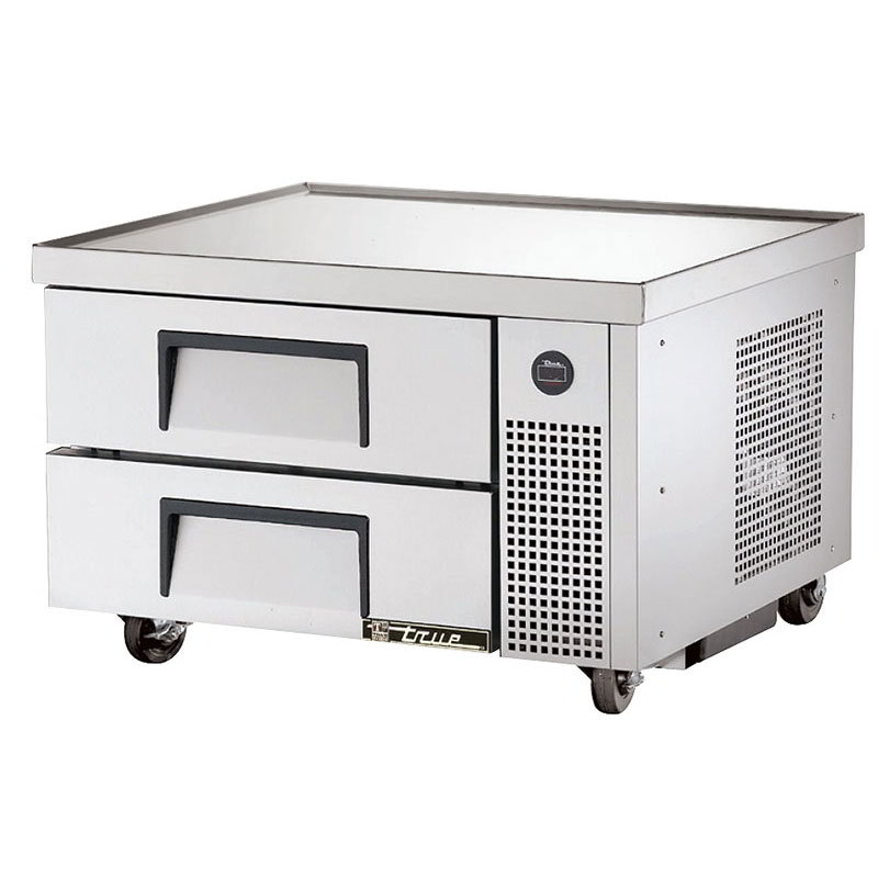 "True TRCB-36 36"" Chef Base w/ (2) Drawers - 115v"