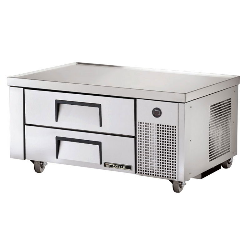 "True TRCB-48 48"" Chef Base w/ (2) Drawers - 115v"