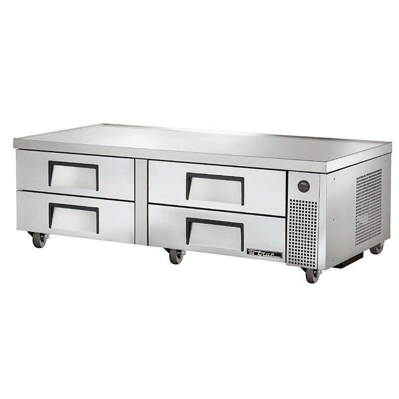 "True TRCB-72 72"" Chef Base w/ (4) Drawers - 115v"
