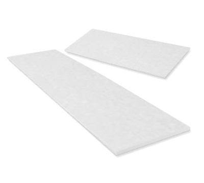 True 810869 Polyethylene Cutting Board, 72 in x 8-7/8 in For Use With Crumb Catcher 874620