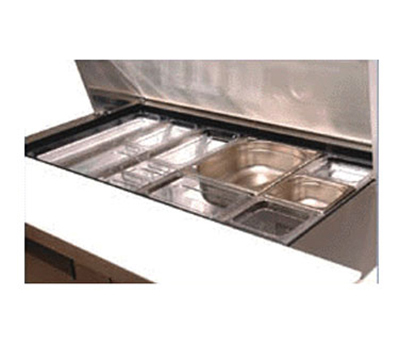 True 864266 Adapter Bar for Rubbermaid Condiment Pans, Runs Left to Right, 12-5/8 in x .85