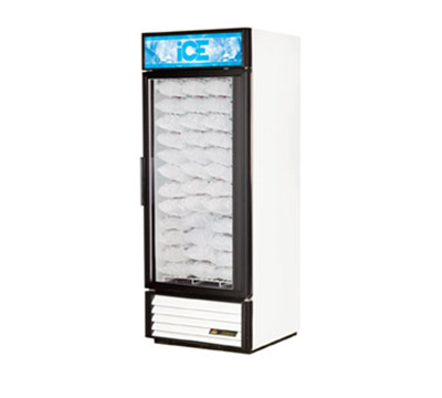 True GDIM-26NT-LD Indoor Ice Merchandiser w/ (54) 8-lb Bag Capacity, LED Lighting, 115v