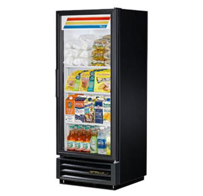 "True GDM-12-LD 25"" One-Section Refrigerated Display w/ Swing Door, Bottom Mount Compressor, 115v"