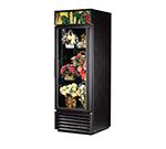 True GDM-23FC-LD 1-Section Floral Cooler w/ Swinging Door - Black, 115v