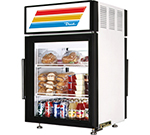 "True GDM-5PT-LD 24"" Countertop Refrigeration w/ Pass Thru Access - Swing Door, White, 115v"