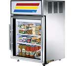 "True GDM-5-S-LD 24"" Countertop Refrigeration w/ Front Access - Swing Door, Stainless, 115v"