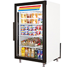 "True GDM-7-LD 24"" Countertop Refrigeration w/ Front Access - Swing Door, White, 115v"