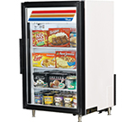 "True GDM-7F-LD 24"" One-Section Display Freezer w/ Swinging Door - Rear Mount Compressor, 115v"