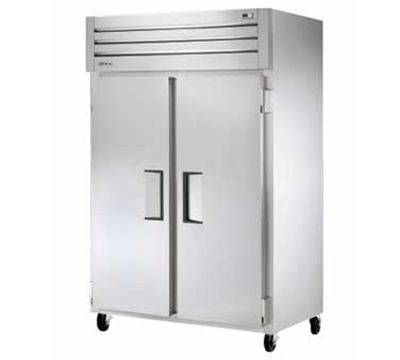 """True STM2R-2S 52.63"""" Two Section Reach-In Refrigerator, (2) Solid Door, 115v"""