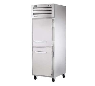 True STG1DT-2HS 26-cu ft One Section Commercial Refrigerator Freezer - Solid Doors, Top Compressor, 115v