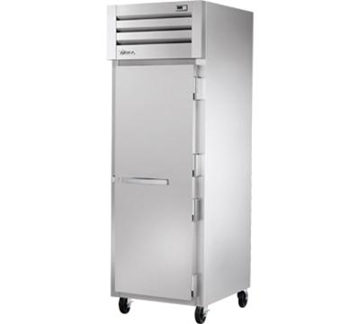 """True STR1R-1S 28"""" Single Section Reach-In Refrigerator, (1) Solid Door, 115v"""
