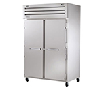 True STR2DT-2S 26-cu ft Two Section Commercial Refrigerator Freezer - Solid Doors, Top Compressor, 115v