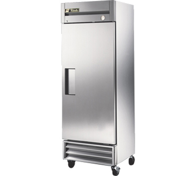 "True T-19FZ 27"" Single Section Reach-In Freezer, (1) Solid Door, 115v"