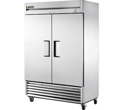 """True T-49F 54.13"""" Two Section Reach-In Freezer, (2) Solid Doors, 115v"""