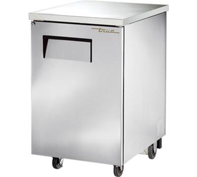 """True TBB-1-S 23.5"""" (1) Section Bar Refrigerator - Swinging Solid Door, 115v"""