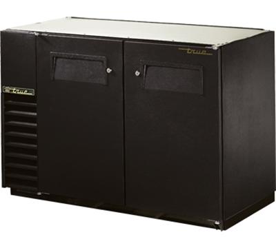 """True TBB-24GAL-48 48"""" (2) Section Bar Refrigerator - Swinging Solid Doors, 115v"""