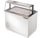 "True TDC-47 47.13"" Stand Alone Ice Cream Freezer w/ 8-Tub Capacity & 5-Tub Storage, 115v"