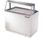 "True TDC-47-CG 46.75"" Stand Alone Ice Cream Freezer w/ 8-Tub Capacity & 5-Tub Storage, 115v"