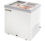 "True TFM-29FL WHT 29.88"" Mobile Ice Cream Freezer, 115v"