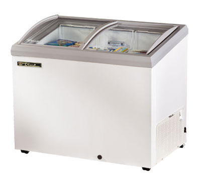 "True TFM-41AL WHT 41.38"" Mobile Ice Cream Freezer, 115v"