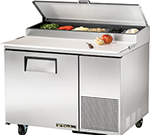 "True TPP-44 44"" Pizza Prep Table w/ Refrigerated Base, 115v"