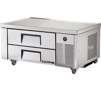 "True TRCB-48 48.38"" Chef Base w/ (2) Drawers - 115v"