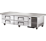 "True TRCB-79-86 86.25"" Chef Base w/ ( 4) Drawers - 115v"