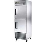 "True TS-23F-2 27"" Single Section Reach-In Freezer, (2) Solid Door, 115v"