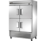 "True TS-49F-4 54.13"" Two Section Reach-In Freezer, (4) Solid Doors, 115v"
