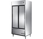 """True TSD-33 39.5"""" Two Section Reach-In Refrigerator, (2) Solid Door, 115v"""
