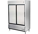 "True TSD-47 54"" Two Section Reach-In Refrigerator, (2) Solid Door, 115v"