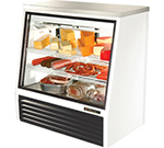 "True TSID-48-2 48"" Full Service Deli Case w/ Straight Glass - (3) Levels, 115v"