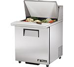 """True TSSU-27-12M-B-ADA 27"""" Sandwich/Salad Prep Table w/ Refrigerated Base, 115v"""