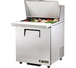 """True TSSU-27-12M-C-ADA 27"""" Sandwich/Salad Prep Table w/ Refrigerated Base, 115v"""