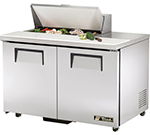"True TSSU-48-8-ADA 48"" Sandwich/Salad Prep Table w/ Refrigerated Base, 115v"